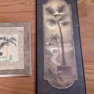 Other - 💚Nwt palm wall paintings $10 for both